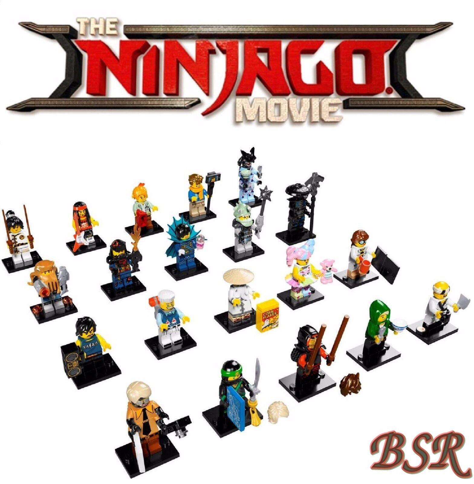 LEGO ® 71019 complet spécial-Série-Ninjago movie 20 Minifiguren  NOUVEAU