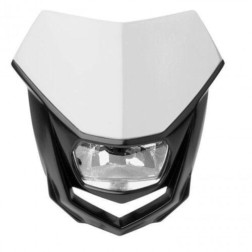 Polisport Halo Black/White Universal Road Legal Halogen Enduro Headlight