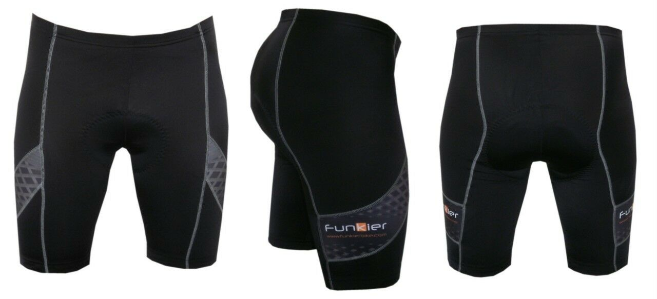 Funkier Men's Cycling Shorts S-210-B14 , 8 Panel  Men's cycling shorts  online shopping sports