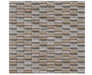 Wunderbar Das Bild Wird Geladen Glassteinmosaik Beige Staebchen Granit Dusche  Renovieren Fliesen Mosaik