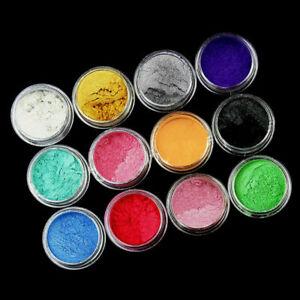 12-Color-Set-Mica-Pigment-Powder-Perfect-For-Dye-Resin-Z2E2-Color-Soap-I9K1