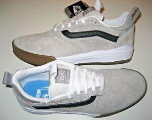 d72d343298 Vans Mens UltraRange Pro Drizzle Grey White Suede Skate shoes Size 7 ...
