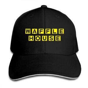 Waffle-House-Adjustable-Cap-Snapback-Baseball-Hat