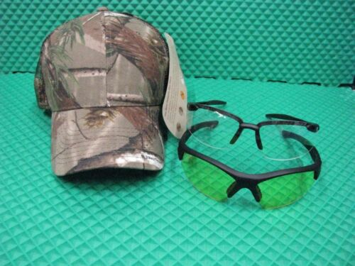 M/&P Tactical Shooting Glasses 2 Pack with A Realtree Camo Hat