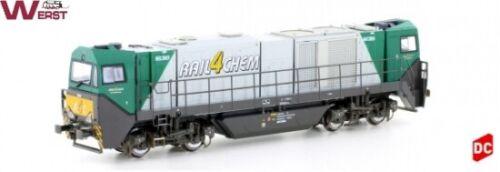 """Mehano 58910 Diesel-Lok G2000 BB /""""Rail4Chem/"""" Epoche V DC H0 NEU /& OVP"""