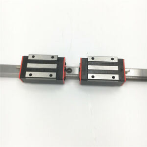 Linear Rail Guide HGR15 L-350mm & 2pc HGH15CA Rail Guide Replacement for HIWIN