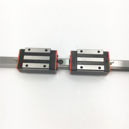 15mm HGR15 Linear Rail Guide L-500mm/&2pc HGH15CA Block Replacement for HIWIN
