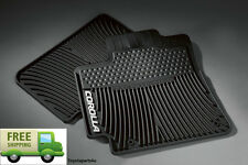 Toyota Corolla 2009 - 2013 Black All Weather Front Floor Mats - OEM New!