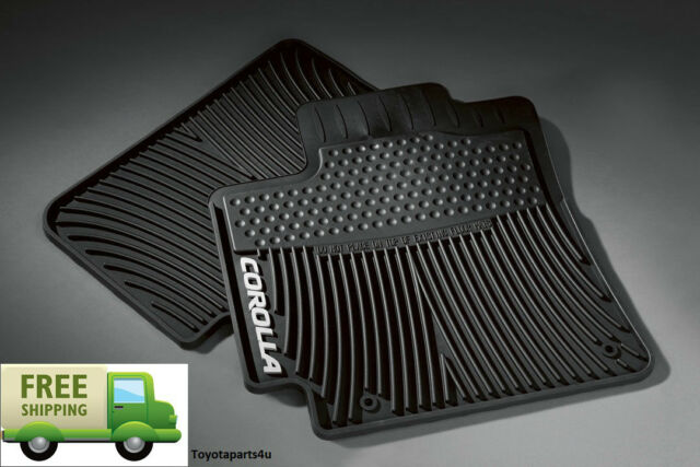 2010 2011 Toyota Avalon Factory All Weather Black Floor Mats Ebay