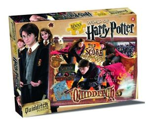 World-of-Harry-Potter-Collectors-Jigsaw-Puzzle-Spiel-Quidditch-1000-Teile