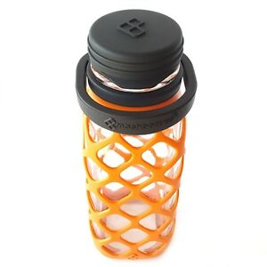 Meshbottle-with-Silicone-Top-Burnt-Orange