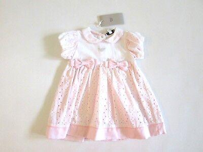 Bello Armani Girl Abito Vestito Battesimo Bambina Primavera Estate 9 Mesi Sconto 50%