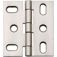Satin Nickel, Flat-tip Butt Hinge, 2 L X 1-3/4 W on sale