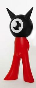 Figurine Vinyle Bicolore Sataniki Freak Famille Noir / Rouge By Von Murr