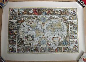 Weltkarte-60er-Jahre-76cm-X-106cm