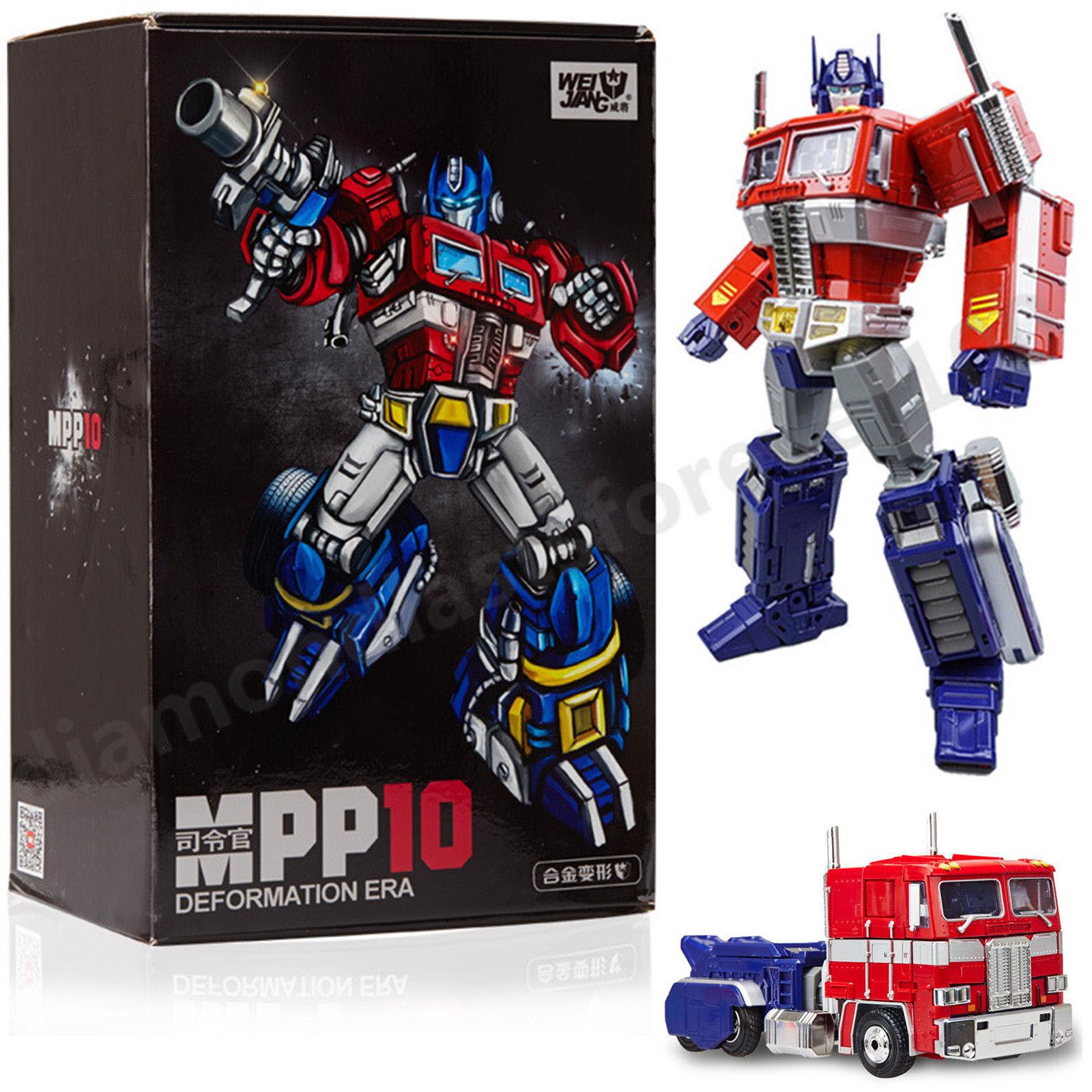 Mpp10 Weijiang Transformers Optimus Prime Noël eaux pour enfant