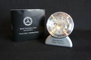Travel Clock / Desktop Clock: Mercedes-Benz World Time Alarm Clock (JS) #1