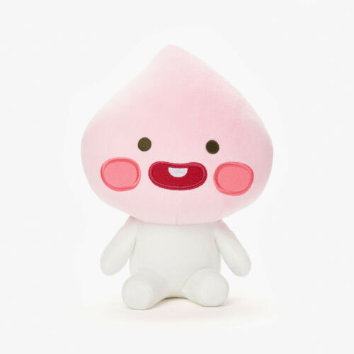 KAKAO FRIENDS Character Plush Doll Toy Little APEACH 25cm 9.8 Official Goods