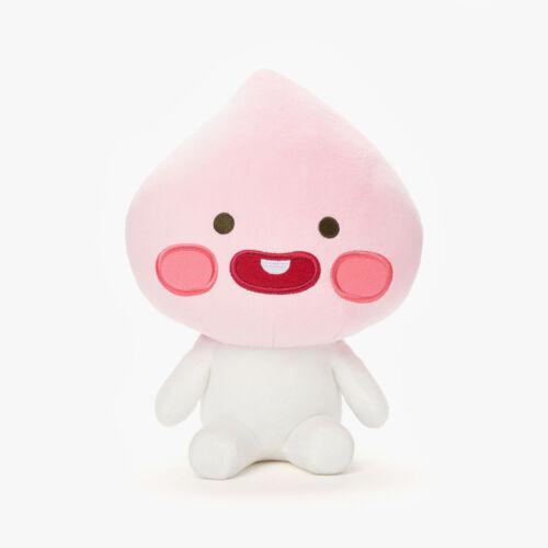 "KAKAO FRIENDS Character Plush Doll Toy Little APEACH 25cm 9.8/"" Official Goods"