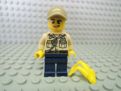 Rettungsweste cty519  60065 60069 60071 Lego Figur City Polizei Sumpf Polizist