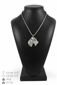 Foksterier-silver-plated-pendant-on-the-silver-chain-Art-Dog-IE