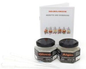 Molekularküche Set , Gluco, Algin Set mit Rezept und Pipetten(15,63 ...