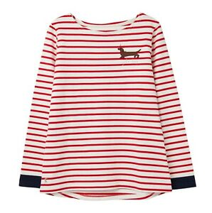 Joules-Festive-Harbour-Print-Jersey-Top-Yule-Dog