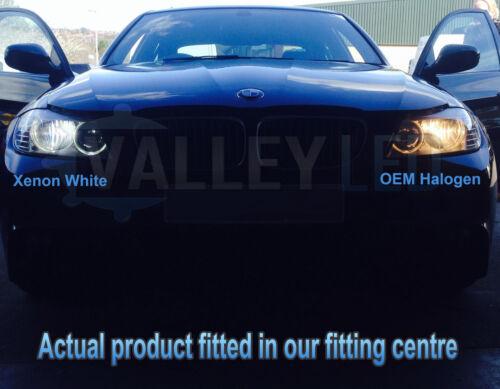 Clio Mk2 98-05 Xenon White Upgrade Kit Headlight Dipped High Side Bulbs 6000k