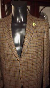 Lardini-Sartoria-Jacke-Neu-54-784-00-Etikett-Wolle-Logo-Winter-Kader