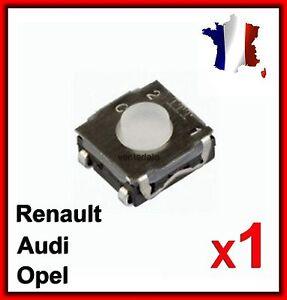 1 Interruptor Botón Pulsadores Llave Inteligente Control Remoto Renault Audi