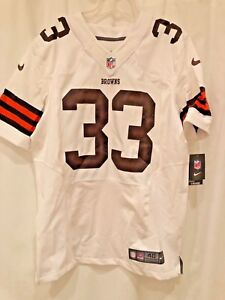brand new f84af 14c9f Details about CLEVELAND BROWNS NIKE AUTHENTIC JERSEY,NWT,#33  RICHARDSON,SZ.40,NIKE#479113-102