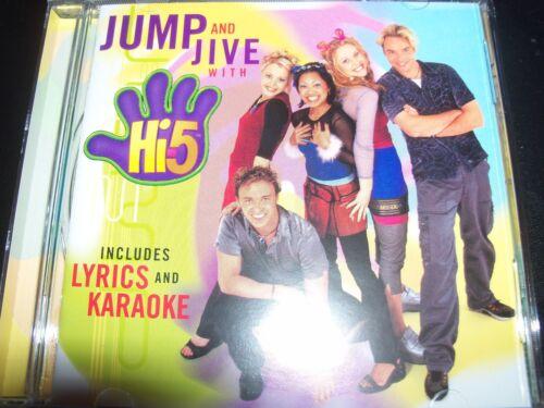 1 of 1 - Hi-5 / Hi Five Jump And & Jive With (Australia) Kids / Childrens CD – Like New