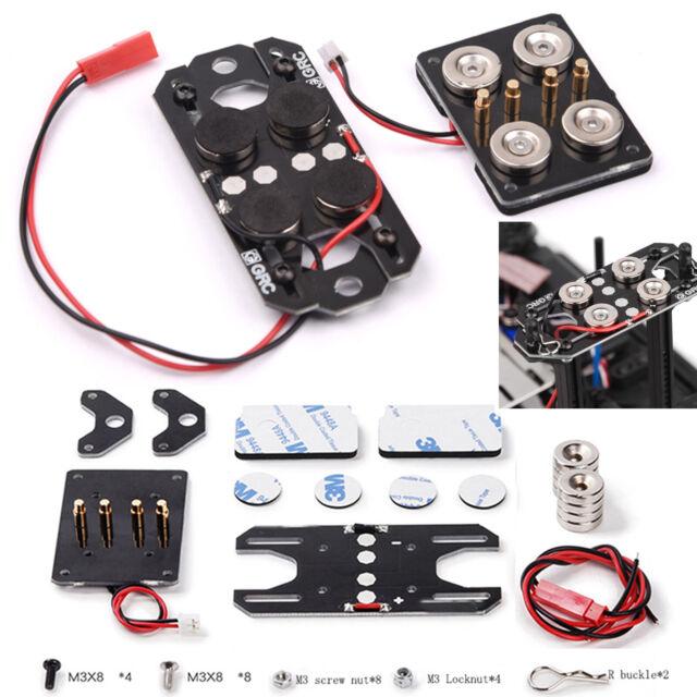 Magnetische Karosseriehalterung Body Post Für 1/10 AXIAL SCX10 D90 TRX-4 4WD Car