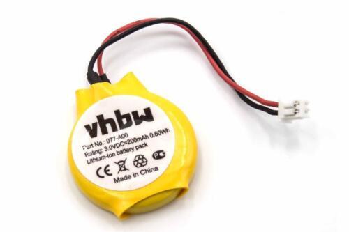 BIOS CMOS CLOCK Akku fuer DELL Precision M4600 3V 200mAh Precision M6600