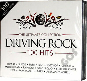 The-Ultimate-Driving-Rock-5-CD-Original-Music-Compilation-of-60s-70s-80s-90s-00s