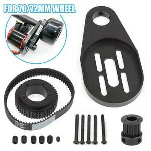 DIY-Parts-Pulley-Motor-Mount-Drive-Kit-For-72MM-70MM-Wheel-Electric-Skateboard
