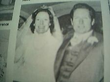 ephemera 1976 kent wedding picture r w morris miss s a grace