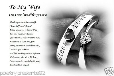On our my wife wedding poem to day 50th Anniversary