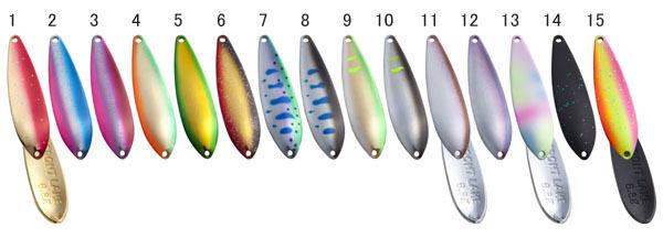 Bosque Lago frontal. 6.8g. conjunto de 15 Colors