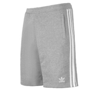 vast selection best prices affordable price Détails sur Adidas 3-Stripes Shorts Homme Pantalon Court pour de Jogging  Gris DH5803