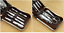 Kit-Manucure-9-pieces-avec-Etui-Coupe-ongle-Ciseaux-Pince-epiler-etc miniature 2