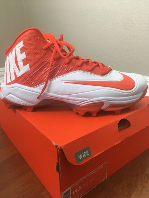 12707a0aecf NEW NIKE ZOOM CODE ELITE PRO SHARK Mens 14.5W Football Cleats  90 New in Box
