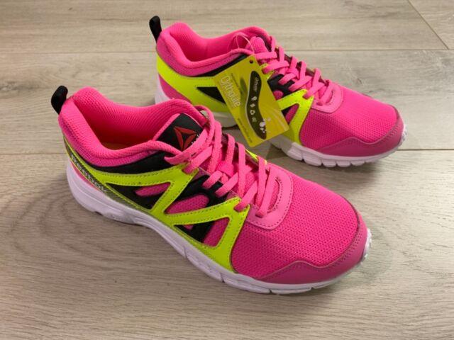 8c5817fd3 Reebok Run Supreme 2.0 Pink Mesh Running Shoe Ortholite Insole Girls Kids  Size 5