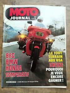 Moto Journal Nº 548 / 18 Mars 1982