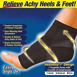 Foot-Angel-Compression-socks-Foot-Sleeve-Arthritis-Sore-Achy-Heel-Pain-AU-SELL