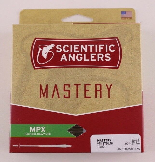 Scientific Anglers Mastery MPX Fly Line WF6F Stealth Free Fast Shipping