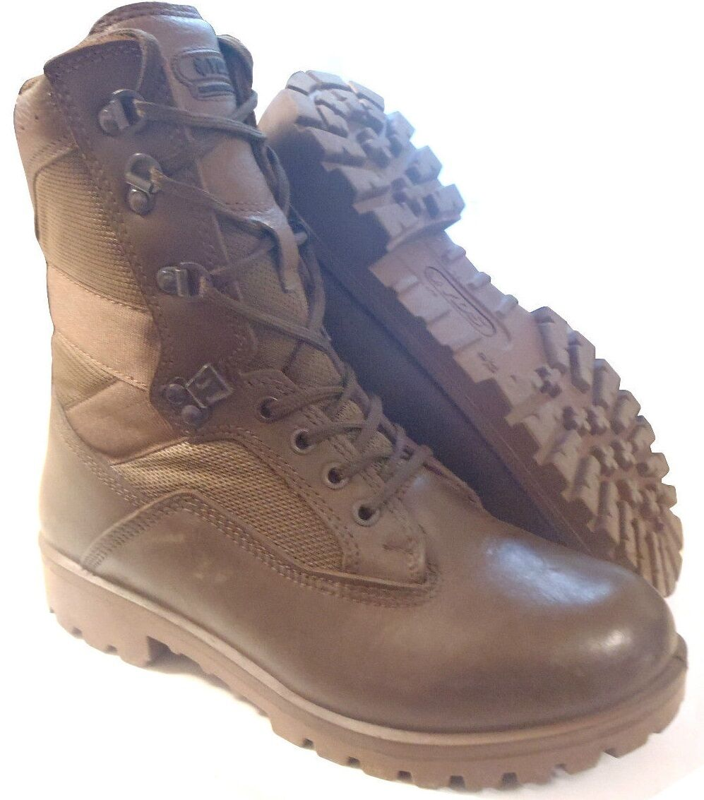 BRITISH ARMY - YDS KESTREL BROWN PATROL BOOTS - VARIOUS SIZES - GRADE 1 USED