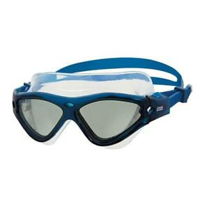 Zoggs-Tri-Vision-Swimming-Silicone-Mask-Swim-Goggles-In-Blue