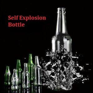 6 PCS Self Explosion Cola Bottle Magic Trick Stage Street Close Up Mental Parlor