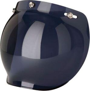 75cef283 Image is loading Z1R-3-Snap-Motorcycle-Helmet-Bubble-Shield-Smoke
